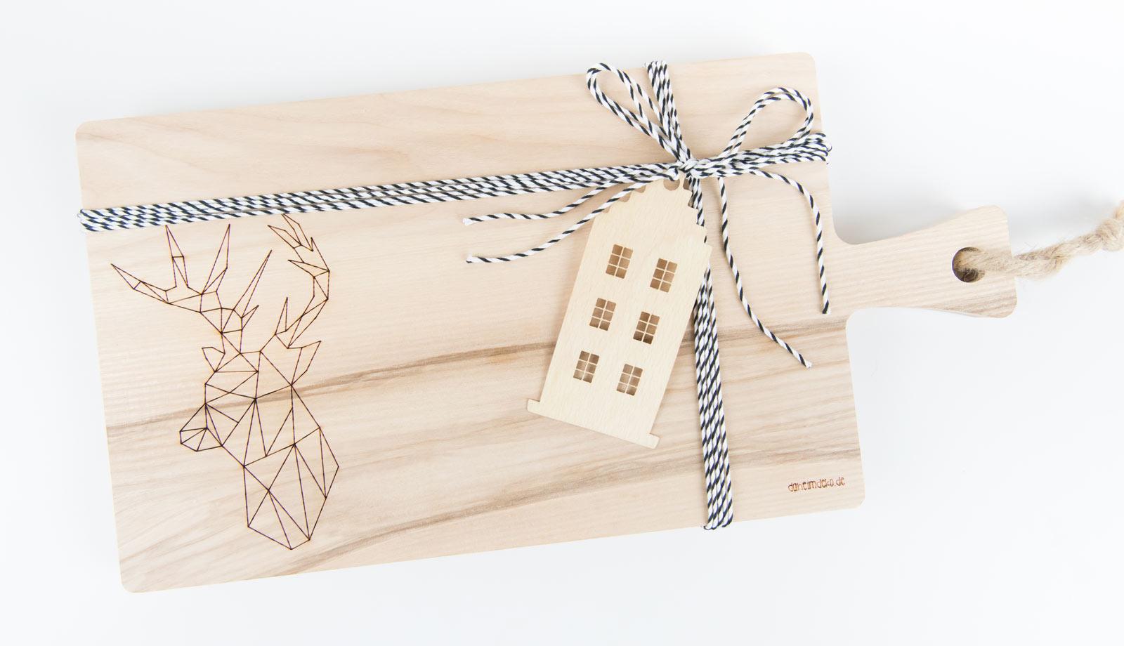 Schneidebretter aus Holz als Geschenkidee