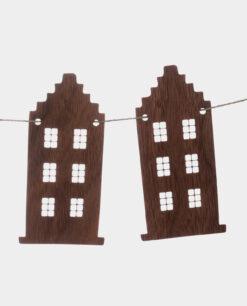 Girlande Grachtenhäuser