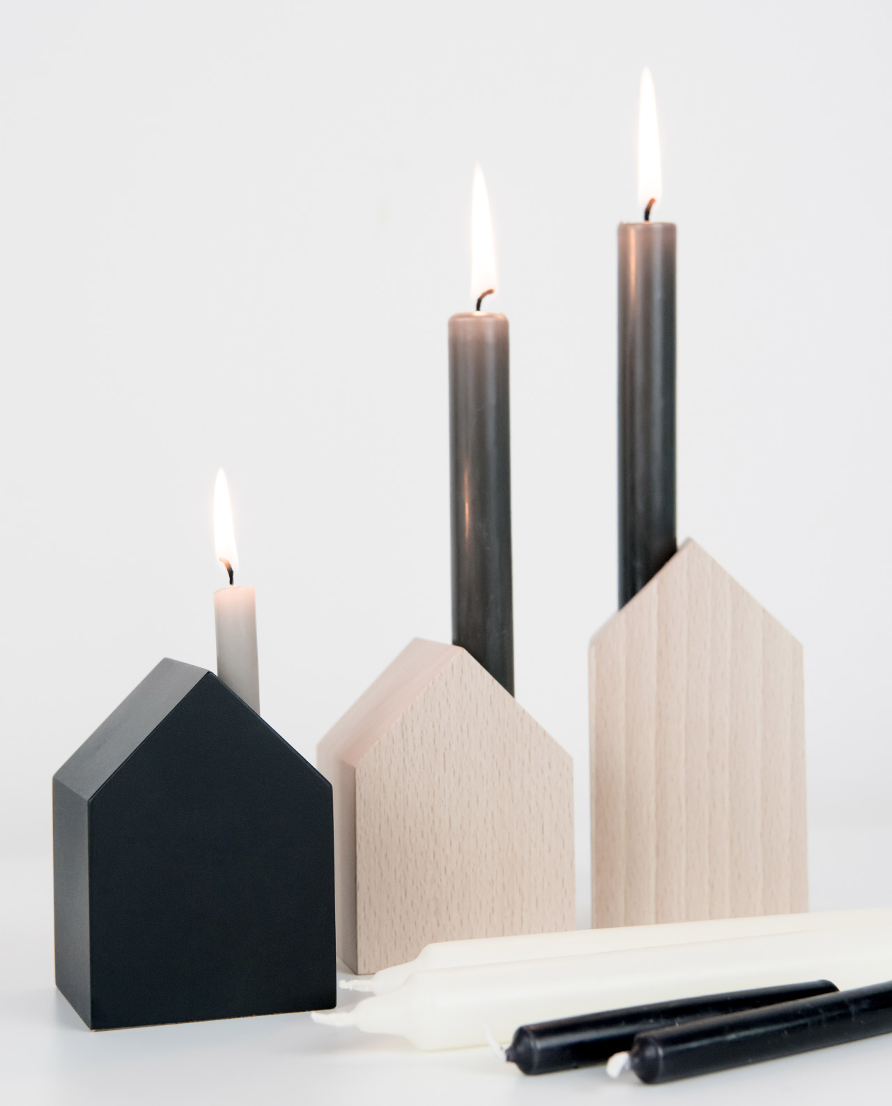 Kerzenleuchter & Kerzen
