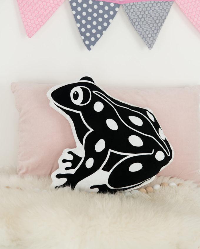 Kissen Kinderzimmer Frosch