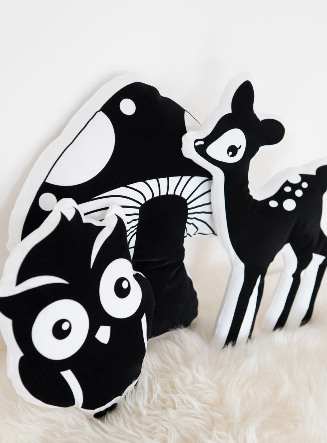 Tierkissen - Kissen mit Tiermotiven Wald