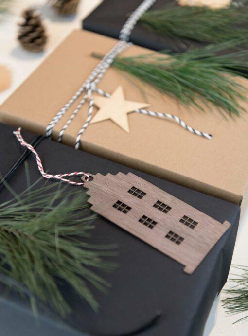 Geschenke minimalistisch verpacken