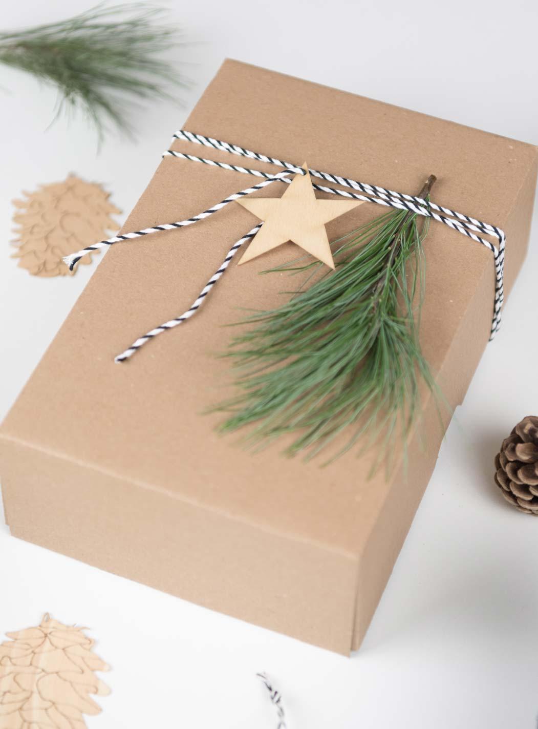 Weihnachten Geschenke verpacken - reduziert