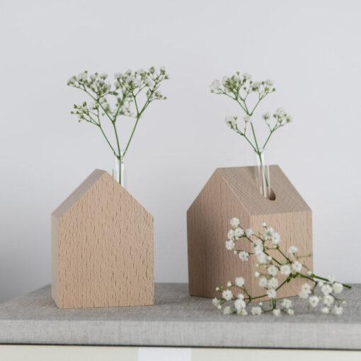 Dekohaus aus Holz