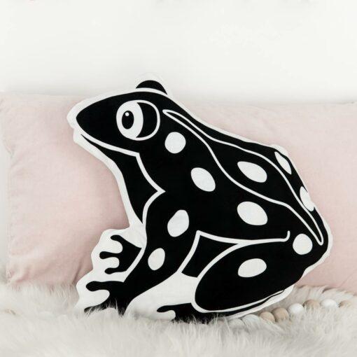 Kissen Tiermotiv Frosch