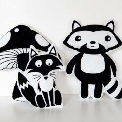 Nähset Kissen Waldtiere