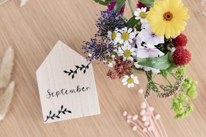 Blumen Vase September