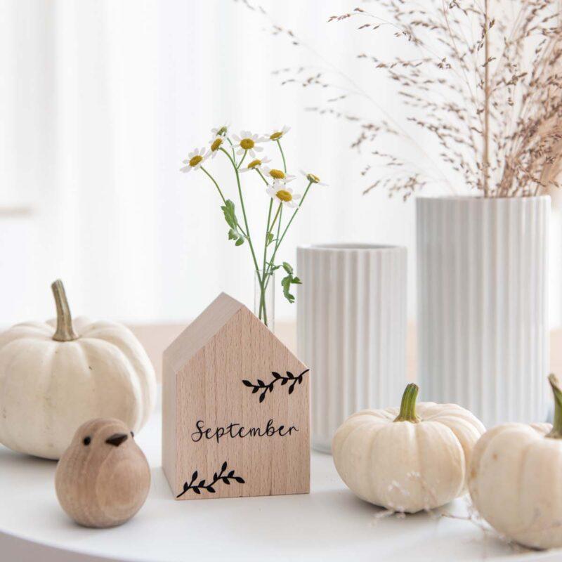 Zierkamille in kleiner Vase Dekohaus